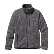 Patagonia Men's Better Sweater® Fleece Jacket - Nickel with Forge Grey