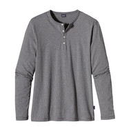 Patagonia Men's Long-Sleeved Daily Henley - Feather Grey
