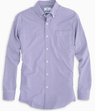 Southern Tide Gameday Gingham - Regal Purple