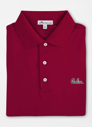 Peter Millar University of South Carolina Script Solid Performance Polo - Maroon