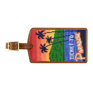 Smathers and Branson Luggage Tag - Ticket to Paradise