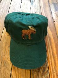 Smathers and Branson Moose Needlepoint Hat - Hunter