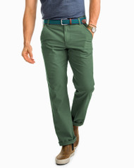Southern Tide RT-7 Classic 5-Pocket Pant - Duck Green