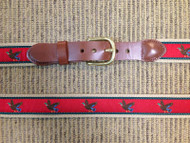 Leatherman LTD Canvas Mallards Belt - Red