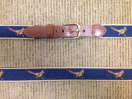 Leatherman LTD Canvas Pheasants Belt - Navy