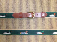 Leatherman LTD Canvas Five Ducks Belt - Green
