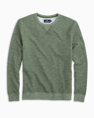 Southern Tide Twill Upper Deck Crew Pullover - Forest
