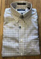Craig Reagin Palmetto Sport Shirt - Blue Tattersall