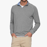 Johnnie-O Collier Bamboo Blend 1/4 Zip Pullover - Meteor