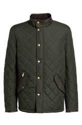 Barbour Mens Powell Quilted Jacket - Sage