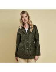 Barbour Lightweight Beadnell Wax Jacket - Archive Olive