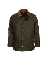 Barbour Mens Lightweight Ashby Wax Jacket - Archive Olive