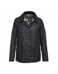 Barbour Lightweight Acorn Wax Jacket - Royal Navy