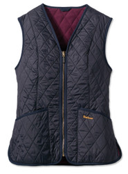 Barbour Womens Baffle Betty Liner - Navy