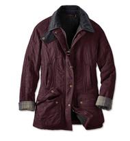 Barbour Beadnell Polarquilt Jacket - Aubergine