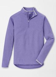 Peter Millar All Day Lightweight Micro Fleece Quarter-Zip - Aurora