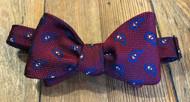 R Hanauer Cascade Pine Bow Tie - Red