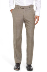 """Ballin Comfort """"Eze"""" Super 120's Dunhill Fit - Taupe"""