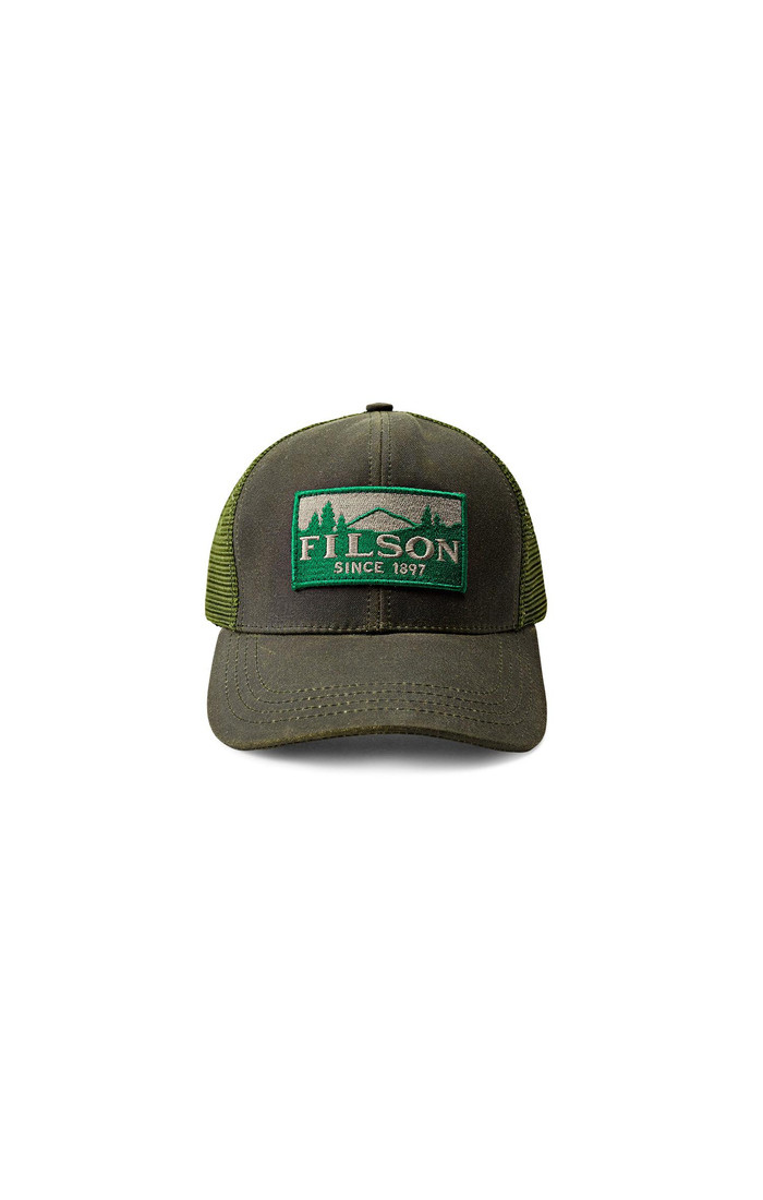 19fc71383749 Filson Logger Mesh Cap - Otter Green - Craig Reagin Clothiers