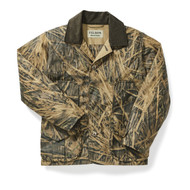 Filson x Mossy Oak Shelter Cloth Waterfowl Upland Jacket - Shadowgrass
