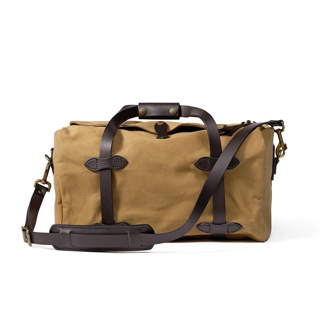 e40d585d1c48 Filson Small Duffle Bag - Tan - Craig Reagin Clothiers