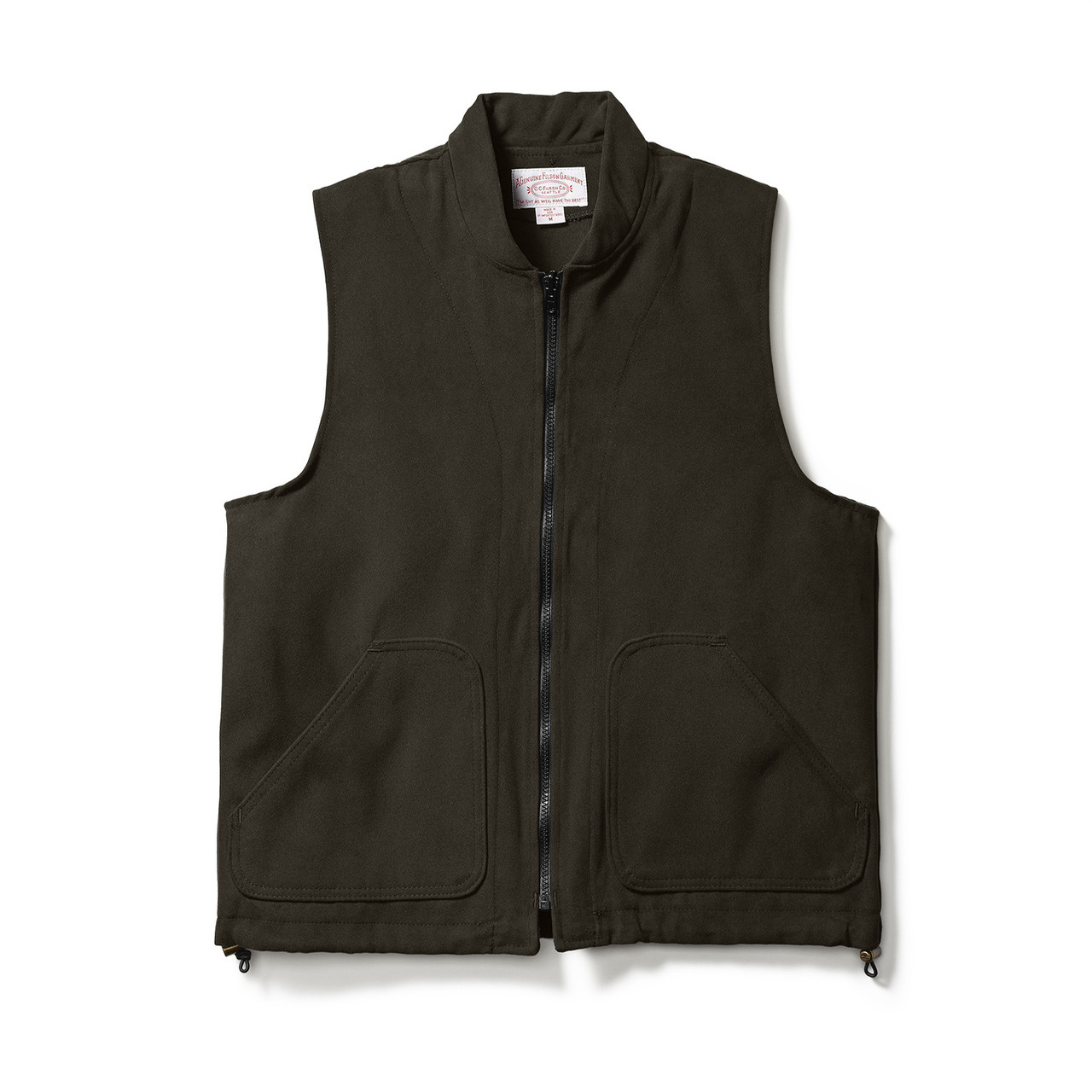 624add7fd057 Filson Moleskin Vest Liner - Brown - Craig Reagin Clothiers