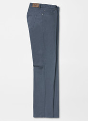 Peter Millar Soft Touch Twill 5 Pocket Pants - Navy