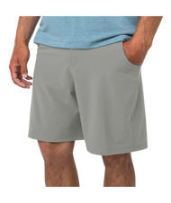 "Free Fly Men's Hybrid Shorts 7.5"" Inseam - Cement"