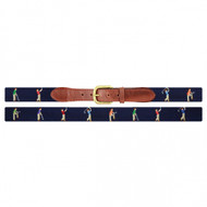 Smathers and Branson Mulligan Belt - Dark Navy