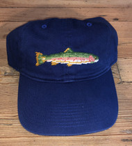 Smathers and Branson Big Trout Needlepoint Hat - Navy
