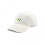 Smathers and Branson Love All Needlepoint Hat - White