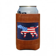 Smathers and Branson Can Cooler - Patriotic Dog On Point - Dark Navy