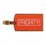 Smathers and Branson Luggage Tag -  Priority - Orange