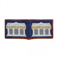 Smathers and Branson Bank of Dad Bifold Wallet - Classic Navy