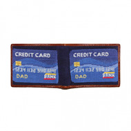 Smathers and Branson Dad's Credit Card Bifold Wallet - Midnight