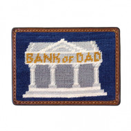 Smathers and Branson Card Wallet - Bank of Dad - Classic Navy