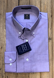 Craig Reagin Sport Shirt - Light Purple Chambray