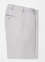 Peter Millar Soft Touch Twill Short - Gale Grey
