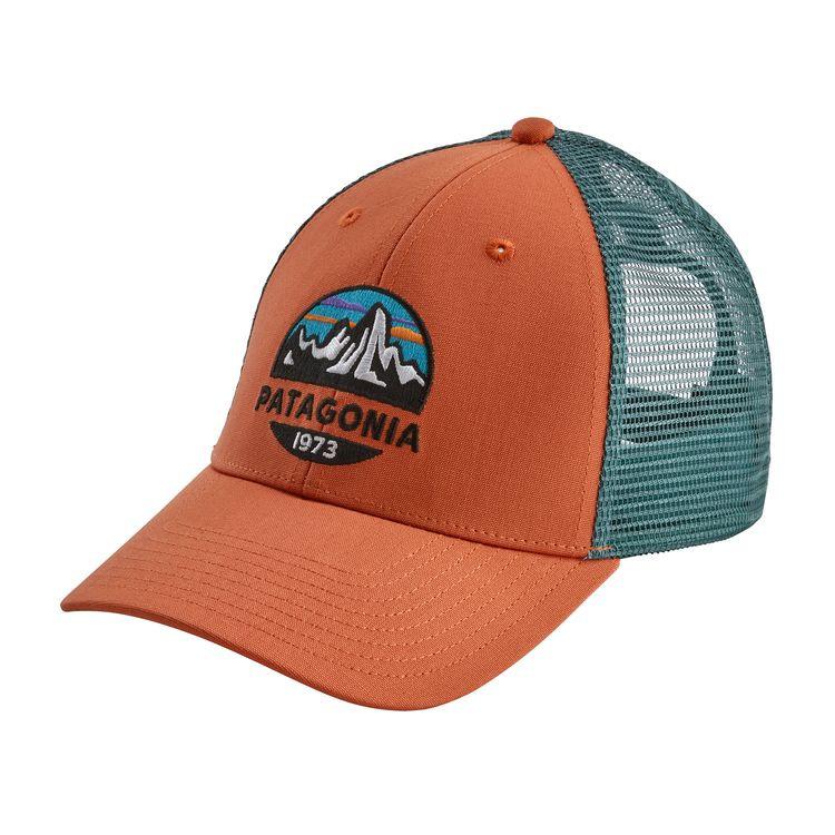 d1edf37d Patagonia Fitz Roy Scope LoPro Trucker Hat - Sunset Orange. $29.00. Image 1