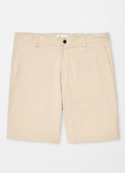 Peter Millar Shackleford Hybrid Mélange Short - Khaki