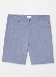 Peter Millar Shackleford Hybrid Mélange Short - Navy