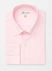 Peter Millar Rivers Performance Natural Touch Sport Shirt - Palmer Pink