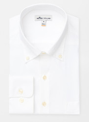 Peter Millar Rivers Natural Touch Performance Sport Shirt - White