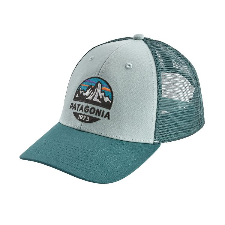 879132c4 Patagonia Fitz Roy Scope LoPro Trucker Hat - Atoll Blue. $29.00. Image 1