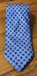 R. Hanauer Ford Necktie - Blue