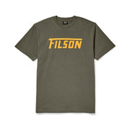 Filson Short Sleeve Outfitter Graphic Tee - Otter Green