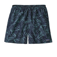 "Patagonia Men's Baggies™ Shorts - 5"" - Rain Fern Reverse - Dam Blue"