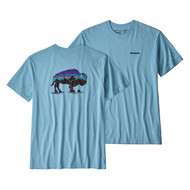 Patagonia Men's Fitz Roy Bison Responsibili-Tee® - Break Up Blue