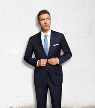 Maxdavoli by MaxMan Blue Stripe Suit