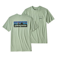 Patagonia P6 Logo Responsibili-Tee - Lite Distilled Green